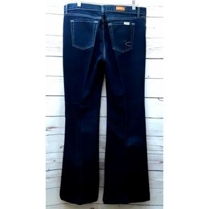 David Kahn Size 30 Womens Jeans Flare Dark Wash